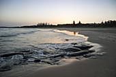 Pippi Beach in Yamba, New South Wales Australia.