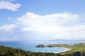 Jackson Bay on the Coromandel Peninsula in New Zealand.