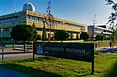 Universitaet Potsdam, Eiche, Potsdam, State of Brandenburg, Germany