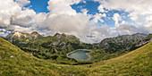 lake Formarinsee, Vorarlberg region, Austria