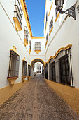Small street in Ronda, province of Málaga, Andalusia, Spain