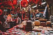 East Africa, Tanzania, Zanzibar, Stone Town spices market