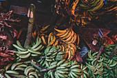 East Africa, Tanzania, Zanzibar, Stone Town fruit market.