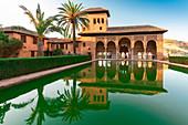 El Partal, Alhambra, Granada, Andalusia, Spain ,Europe