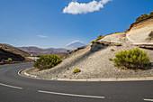 Spain,Canary Islands,Tenerife,Teide National Park,the formation known as La Tarta del Teide