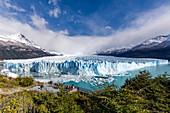 Argentina, Patagonia, Santa Cruz Province, Los Glaciares National Park,all the grandeur of the Perito Moreno glacier