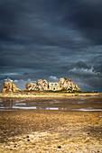 Castel Meur house, Pink Granite Coast, Plougrescrant village, Côtes d'Armor, Brittany, Bretagne, France