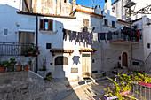 Alleys of Vico del Gargano village, Foggia district, Apulia, Italy