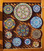 Traditional dishes of the Cordoba handicraft, Cordoba district, Andalusia, Spain