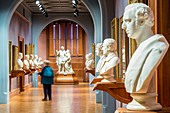 United Kingdom, London, Westminster, Trafalgar Square, the National Gallery opened in 1824, gallery Statesmen
