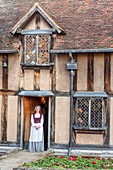 United Kingdom, Warwickshire, Stratford-upon-Avon, birthplace of William Shakespeare where the dramatist spent the first five years of his marriage with Anne Hathaway