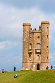 United Kingdom, Gloucestershire, Cotswold district, Cotswolds region, ornamental tower (1799) commissioned by Lady Coventry to architect James Wyatt subsequently stayed where Sir Thomas Phillipps, Edward Burne Jones, William Morris
