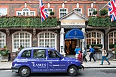 United Kingdom, London, The Goring Hotel, one of two adresses in town accredit for Royal family
