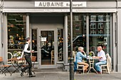 United Kingdom, London, Marylebone Village, Aubaine, french restaurant