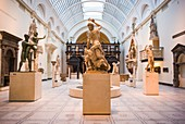 England, London, South Kensington, The Victoria and Albert Museum, sculpture gallery
