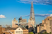 United Kingdom, London, Southwark district, Tower Bridge with Renzo Piano Shard Tower
