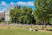 United Kingdom, London, Saint James district, Green park
