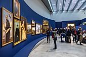 TEMPORARY EXHIBITION ON POLAND, LOUVRE-LENS MUSEUM, LENS, PAS-DE-CALAIS, FRANCE