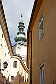 Michael Gate and Tower in Bratislava, Slovakia.