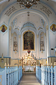 Altar of St. Elisabeth Church in Bratislava, Slovakia