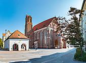 Heiliggeistkirche in Landshut, Bayern, Deutschland
