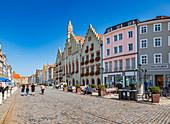 Altstadt von Landshut, Bayern, Deutschland