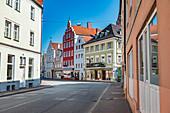 Regierungsstraße in Landshut, Bayern, Deutschland