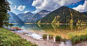 Vilsalpsee in Allgäu Alps, Austria