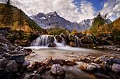 Herbst in der Eng, Eng Alm, Tirol, Österreich