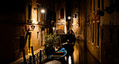 Quiet place in Venice at night