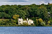 Havel, Tiefer See, Small Castle, Babelsberger Park, Potsdam, Brandenburg State, Germany