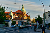 Friedrich-Ebert-Strasse, town hall, Potsdam, State of Brandenburg, Germany