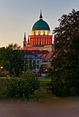 Friendship Island, Nikolaikirche, Potsdam, Brandenburg State, Germany