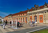 Exhibition at the Filmmuseum, Marstall, Potsdam, State of Brandenburg, Germany