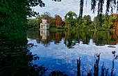 Heiliger See, Gotische Bibliothek, Potsdam, Land Brandenburg, Deutschland