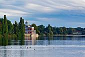 Heiliger See, Mamorpalais, Gruenes Haus, Potsdam, Brandenburg State, Germany