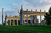 Kolonaden an der Glienicker Brücke, Potsdam, Land Brandenburg, Deutschland