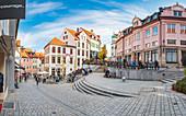Fischerstrasse in Kempten, Bavaria, Germany