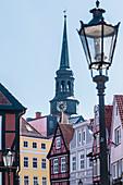 Turm der Kirche St. Cosmae et Damiani, Altstadt, Stade, Niedersachsen, Deutschland