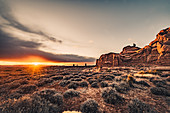 Sunset in Arches National Park, Utah, USA, North America