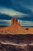 West Mitten Butte in Monument Valley, Arizona, Utah, USA, North America