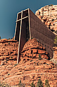 Chapel of the Holy Cross, Sedona, Arizona, USA, North America, America