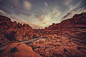 Valley of Fire State Park, Las Vegas, Nevada, USA, North America, America
