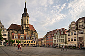 City Church of St Wenzel on the market square, Naumburg an der Saale, Saxony-Anhalt, Germany, Europe