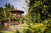 "Weinberghaus, ""Blooming Baroque"" palace garden, Ludwigsburg Palace, Stuttgart metropolitan region, Baden-Wuerttemberg, Germany, Europe"