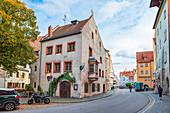 Keplerstrasse in Regensburg, Bavaria, Germany