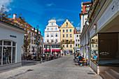 Wahlenstrasse in Regensburg, Bavaria, Germany
