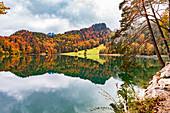 Alatsee bei Füssen, Bayern, Deutschland