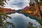 Alpsee bei Füssen, Bayern, Deutschland