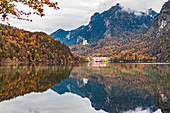 Alpsee near Füssen, Bavaria, Germany